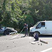 foto accident pe dn1 la puchenii mari trafic blocat