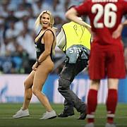interzis minorilor posturile tv nu au putut da imaginile cu blonda dezbracata care a intrerupt finala ligii campionilor