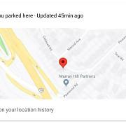 google te ajuta sa stii unde ti-ai parcat masina fara sa faci nimic