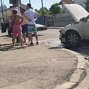 trei autoturisme implicate intr-un accident in ploiesti