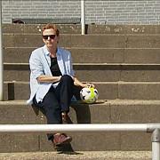 o femeie candideaza pentru postul de presedinte al federatiei germane de fotbal