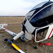 video elicopter prabusit la aterizare la strejnic in prahova