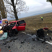 foto accident mortal pe dn1d intre albesti si ciorani