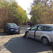 foto accident in zona strejnicu-padurea crangul lui bot trei femei si un copil au ajuns la spital