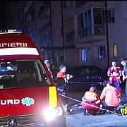 moarte suspecta in capitala dupa ce o tanara ar fi cazut de la etajul unui bloc