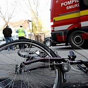 accident grav la breaza un biciclist se zbate intre viata si moarte