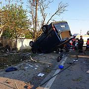 foto accident grav pe dn1 la romanesti o persoana a decedat