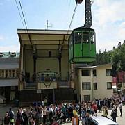 turisti blocati intr-o telecabina la busteni din cauza unei avarii la reteaua electrica
