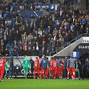 hoffenheim - bayern intrerupt la scorul de 0-6 scene fara precedent fotbalistii au refuzat sa mai joace