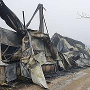 foto noi imagini cu incendiul de la urlati