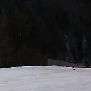 video schior fugarit de urs pe o partie de pe valea prahovei