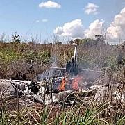 patru fotbalisti si presedintele clubului au murit intr-o noua tragedie aviatica