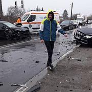 cinci fotbalisti din romania implicati intr-un grav accident rutier chiar inainte de meci