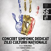 concert simfonic dedicat zilei culturii nationale