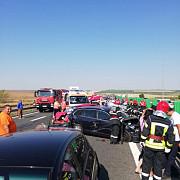 circulatia blocata pe autostrada soarelui dupa un grav accident