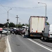 accident rutier grav pe dn 1 a la iesire din blejoi spre boldesti sapte victime dintre care trei copii trafic blocat