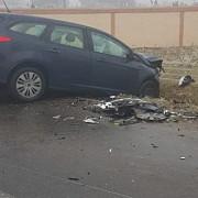 accident in dreptul manastirii ghighiu doua persoane au fost ranite