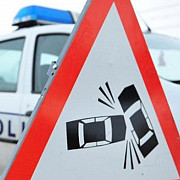 trafic restrictionat pe dn1 la posada accident intre un tir si un autoturism