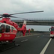 accident grav intre doua motociclete in prahova unul dintre motociclisti a murit al doilea preluat de elicopterul smurd