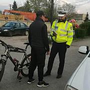 biciclist la un pas de coma alcoolica depistat de politisti la chitorani in prahova