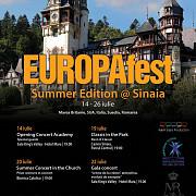 incepe festivalul europafest summer edition
