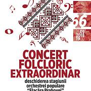 concert folcloric extraordinar al orchestrei populare flacara prahovei in deschiderea stagiunii 2018-2019