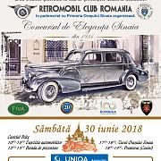 concurs de autovehicule istorice la sinaia