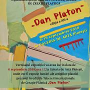 vermisajul taberei internationale de creatie plastica dan platon va avea loc la galeria de arta din ploiesti
