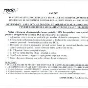 documentele necesare pentru eliberarea abonamentelor lunare gratuite 100 pentru elevii cu domiciliul sau resedinta in ploiesti