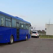 autocar in flacari pe dn1 la azuga trafic blocat