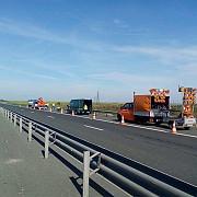 trafic restrictionat pe a1 sibiu - deva din cauza lucrarilor de reparatii asfaltare si trasare a marcajelor