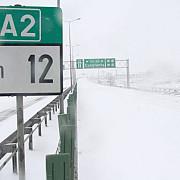 iarna inchide autostrada a2 autovehiculele vor fi evacuate in sistem controlat