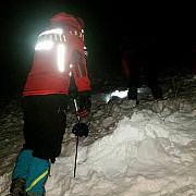 cautarile turistului surprins de avalansa in muntii bucegi suspendate pe perioada nedeterminata