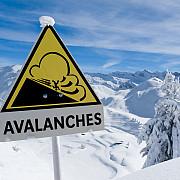 risc crescut de avalansa in muntii fagaras