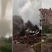 cehia o tornada fenomen mai rar in europa a devastat joi seara mai multe localitati de la granita cu austria