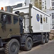 in prahova va ajunge un centru mobil de vaccinare al armatei va actiona in localitati izolate sau greu accesibile