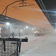 11 trenuri anulate din cauza conditiilor meteo