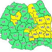alerta anm cod galben de disconfort termic ridicat valabil in 11 judete si in capitala