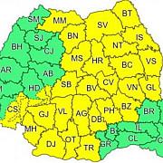 cod galben de ploi si vant in 29 de judete prognoza meteo speciala pentru bucuresti