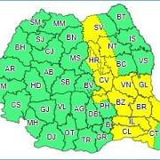 canicula in sudul si sud-estul tarii  avertizare cod galben de ploi pentru 15 judete