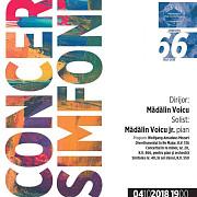 concert simfonic la filarmonica paul constantinescu la pupitrul dirijoral al orchestrei simfonice se va afla madalin voicu iar solist invitat va fi madalin voicu jr pian