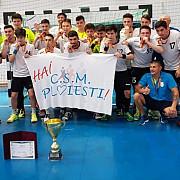 baieti de argint echipa de handbal juniori 2 e vicecampioana nationala