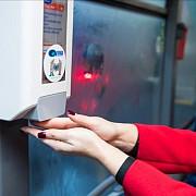 primul oras din romania care a instalat dispensere cu dezinfectanti in autobuze