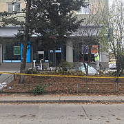explozie la o banca langa bucuresti doi barbati au incercat sa o jefuiasca
