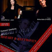 concert simfonic mozart -amp beethoven organizat la filarmonica paul constantinescu