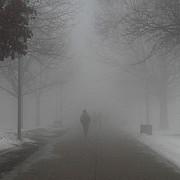 ceata puternica pe drumurile din prahova