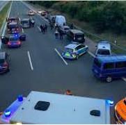 germania luare de ostatici pe autostrada a9 in bavaria la sud de nurnberg