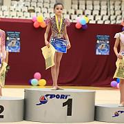 gimnasta sabina enache triplu medaliata la campionatul national pentru junioare mici