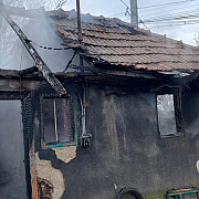un batran a murit intr-un incendiu la colceag