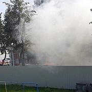 incendiu la sectia de psihiatrie a spitalului judetean slatina unde erau internati 37 de pacienti